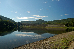 Townshend Dam and Lake